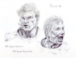 Arshavin and Pavlychenko by BUBIMIR-39
