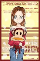 Happy Sweet Sixteen Cicy by jujubes