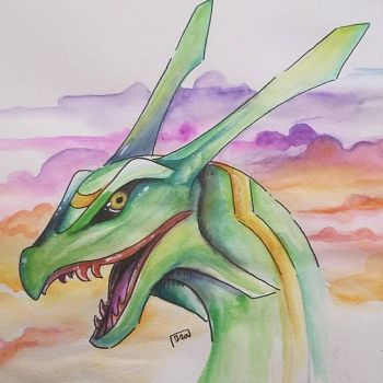 rayquaza by Lux-The-Umbreon