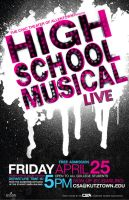 HSM Live Poster by Seany-Mac
