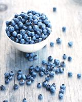 Home Grown Blueberries by ericalea