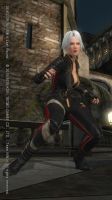 DEAD OR ALIVE 5 Last Round Christie59 by aponyan
