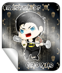 Master of Growls Badge by FlaminiaKennedy