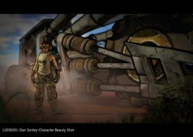 borderlands style tank train with my character by abbrivi8