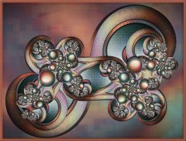 Shiny Happy Spirals by FractalEyes