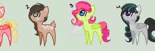 MLP Adopt set by Mento-Chalis