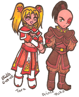 A:tLA Flower for Zuko by SailorSilverFalcon03
