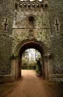 Castle Entrance by NickiStock