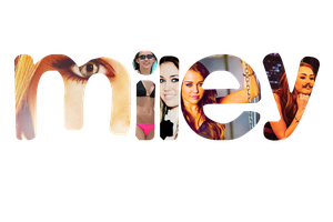 Miley PNG text by chicastecnologicas21
