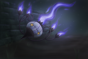 Chandelure by Cinnamon-Quails
