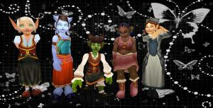 Children: Horde and Alliance. by Elixxis