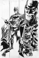 random DC Batman Grayson by xiconhoca