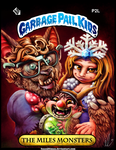 Christmas Card, Garbage Pail Kids themed by IsaacJLitman