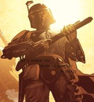 BOBA FETT QUOTE by RJ-reloaded