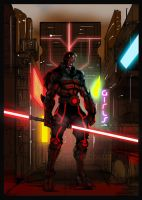 Armored DarthMaul by ronaldesign