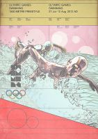 Olympic Games 2012 - Swimming by Giampaolo-Miraglia