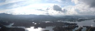 Guatape Panorama by dark-e