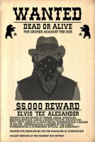Fallout bounty notice 1 by emptysamurai