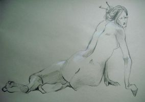 NUDY SKETCH MAR-APR.2011-04 by agathexu