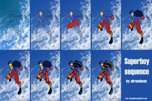 SUPERBOY color sequence by abraaolucas