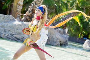 Final Fantasy X-2 - Rikku Thief by Calssara