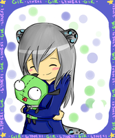 Cuddly Green Thing by LyssieMil