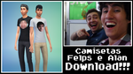 Alanzoka e Felps - THE SIMS 4 MOD - Youtuber by Tr4serzZ