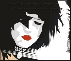 Kiss - Paul Stanley by RobsonG