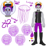 Noah | Fantroll | Reference sheet sketch by MyDrawingSpace888