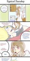 Typical Tuesday :: Steve Rogers x fem!Tony Stark by ImMixyAndImBlue