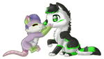 :COM: Chibis for WonderlandMalice by SolarGem