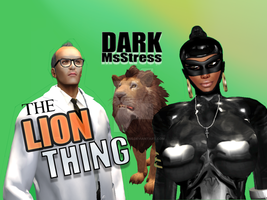 Dark MsStress Lion Thing ThumbnailPoster 4 YouTube by DarkMsStress