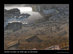 ancient futures: great wall of neo-china by fraterchaos