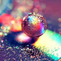 Rainbow Globe by EliseEnchanted