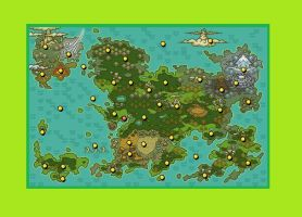 PKMN Mystery Dungeon RBRT Map by Starshadow108