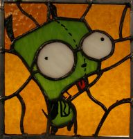Invader Zim_Gir by Gallow-Crux