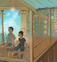 Little Rowe Brothers by Autumn-Sacura