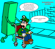 Luigi - The Whee - L - Chair by AmpleDeviant