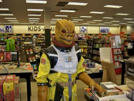 Bossk and books by JohnnyHavoc