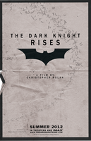 The Dark Knight Rises poster by garrettrussell