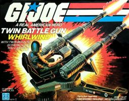 Bigbot's 1983 GI JOE WhirlWind Twin Battle Gun by bigbot01