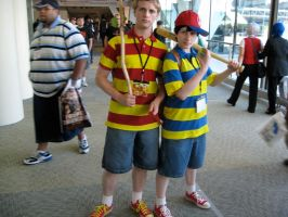 Lucas and Ness by AngstyGuy
