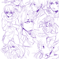 Kagepro Doodley Doodles by JubyPhonic