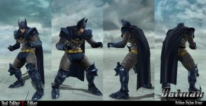 Soul Calibur V - Editor - Batman by soulfenrir