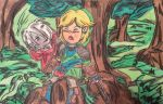 Link X Ghirahim by shibblesgiggles01
