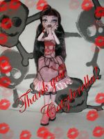 Draculaura-My new dress-Thanks by Bj-Lydia