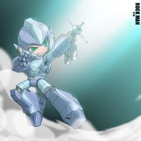 Rockman MAH WAY by dyemooch