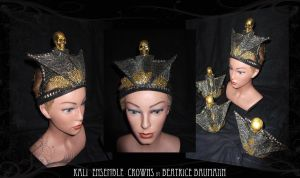 Kali ensemble crowns by BeatriceBaumann