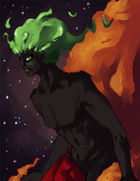 King of the Cosmos 2 by vins-mousseux