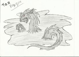 First pic of the tar dragon by crazedperson